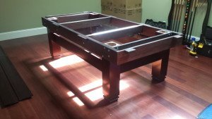 Pool and billiard table set ups and installations in St. Paul Minnesota